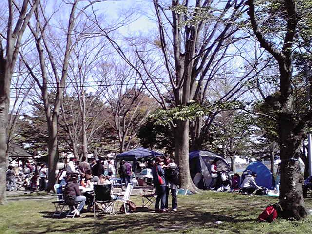 4月25日金沢八景犬