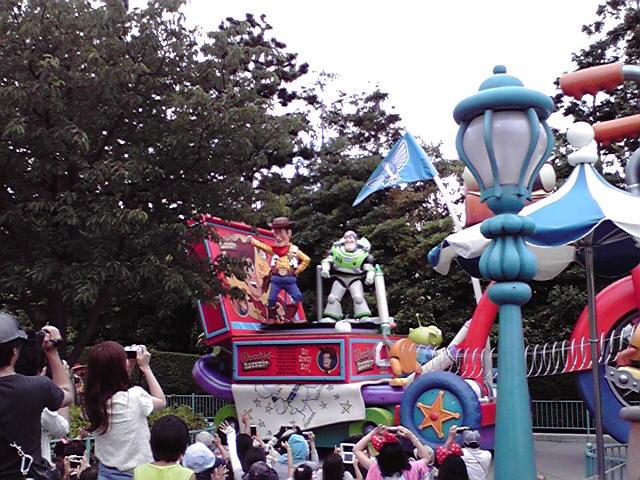 お昼のパレード